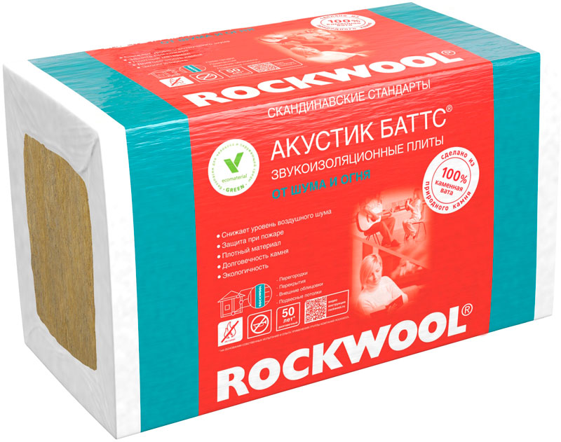 Rockwool Akustik Batts