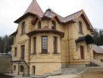 Дома из камня природного – Каменные загородные дома — Строительство каменных домов по выгодным ценам под ключ в компании Свод-Строй