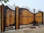 Сделать ворота во двор частного дома фото – Распашные ворота своими руками. Пошаговые фото, чертежи и схемы, идеи оформления + 800 фото